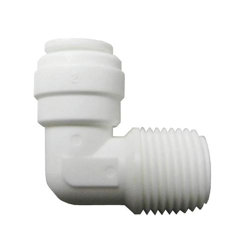 """Watts® 1/4"""" OD Plastic Quick Connect Elbow Fitting"""