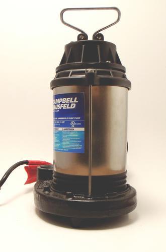 Campbell Hausfeld 34 HP Cast Iron Submersible Sump Pump at Menards
