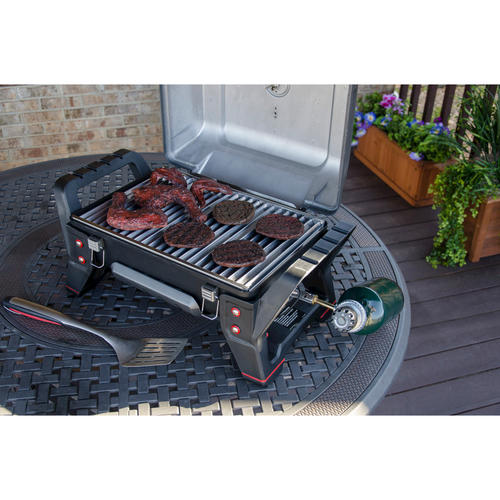 Amazing Char Broil® TRU Infrared™ Grill2Go® Portable 1 Burner Tabletop Gas Grill At  Menards®