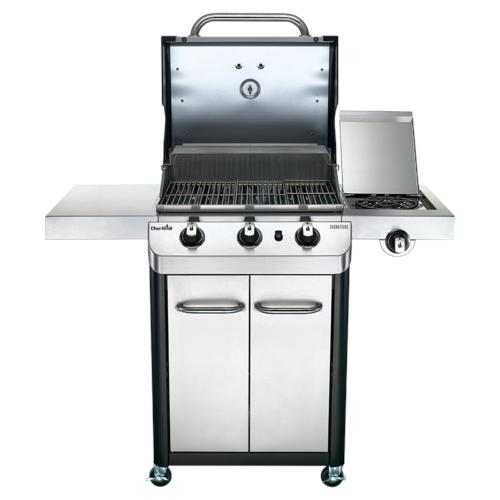 Char Broil Signature 425 3 Burner Gas Grill With Side Burner At