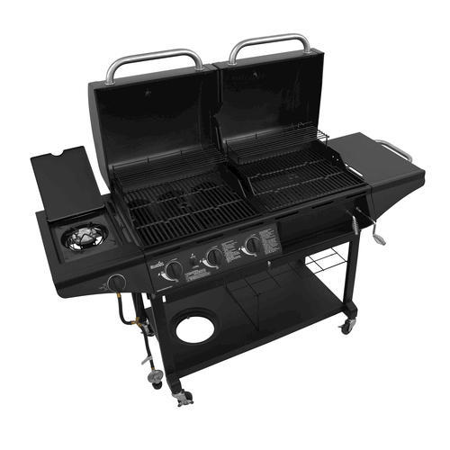 Char Broil 3 Burner Charcoal Gas Combo Grill With Side