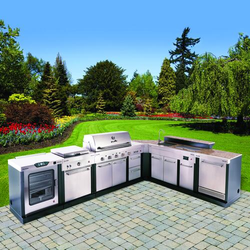Char Broil Medallion Series 7 Piece Modular Outdoor Kitchen At