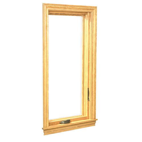 Crestline Elite Aluminum Clad Wood Right Casement Window With Zo E 5 Glass At Menards