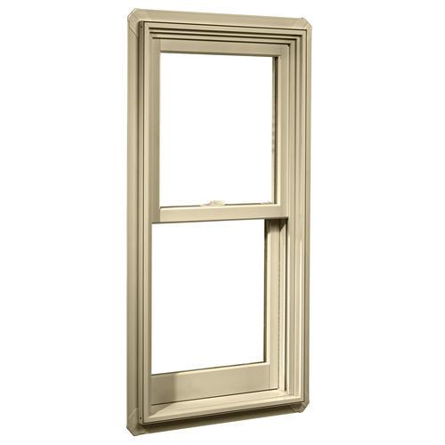 crestline windows menards 36wx40h crestline elite aluminum clad wood double hung window with zoe glass at menards