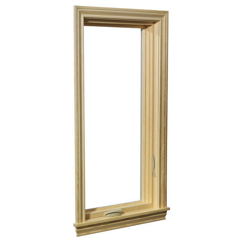 Crestline Select 500 Vinyl Clad Wood Right Casement Window