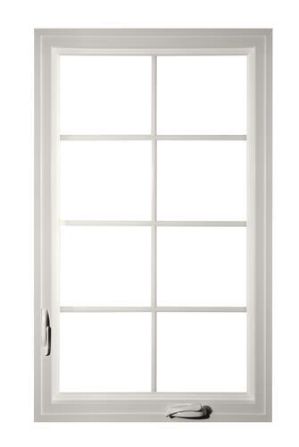 Crestline Select 250 30 W X 48 H Vinyl Casement Black White Interior With Nailing Flange Left At Menards