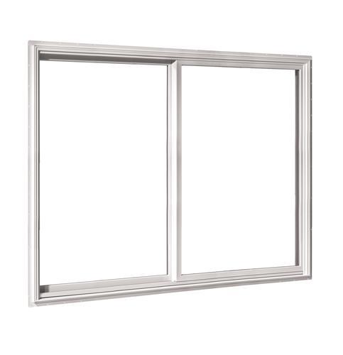 Crestline Select 500 Vinyl Clad Wood Single Slider Window