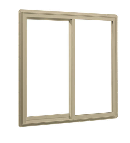 Crestline Select 250 Vinyl Single Sliding Windows With Nailing Flange At Menards