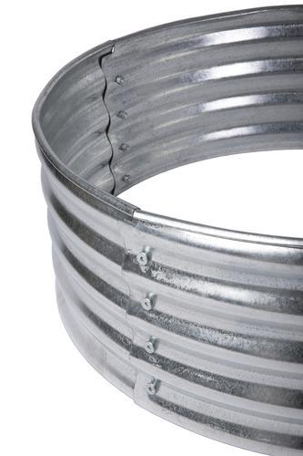 Backyard Creations Galvanized Steel Fire Ring At Menards