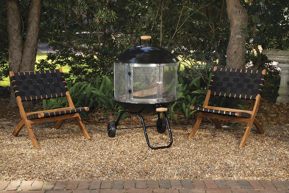 Backyard Creations 28 Portable Steel Fire Pit At Menards