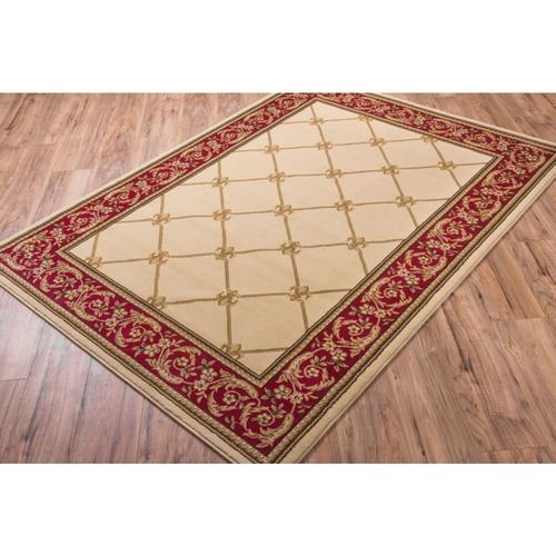 "Well Woven Timeless Ivory Area Rug 9'2"" x 12'6"""