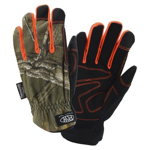 Realtree Hi-Dexterityy Gloves Camoflauge Touch Screen Work Gloves