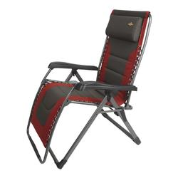 Guidesman 174 Padded Xl Zero Gravity Lounger Patio Chair At