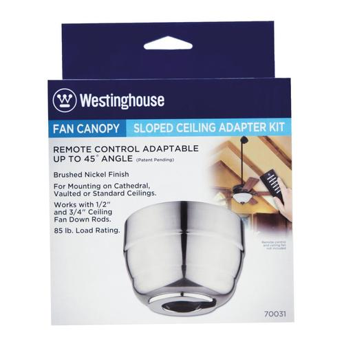 Westinghouse 45 Degree Cathedral Ceiling Fan Canopy Kit At Menards