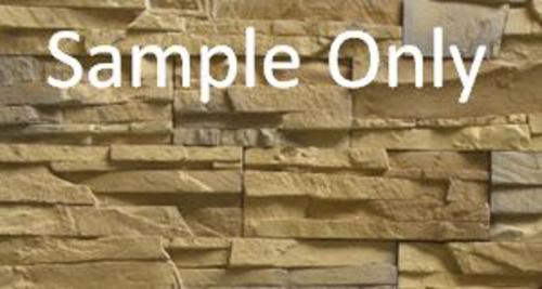 Stone Master 174 Manufactured Stone Veneer Siding Sample