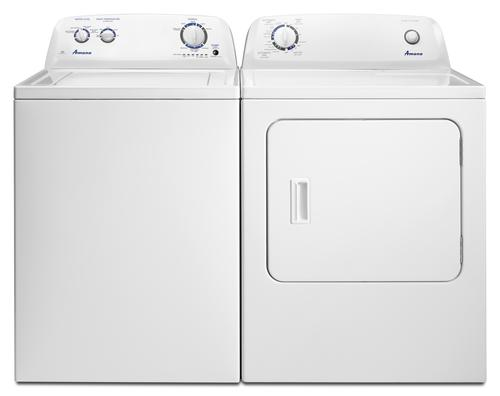 Amana Top Load Washer Dryer White Laundry Suite At Menards