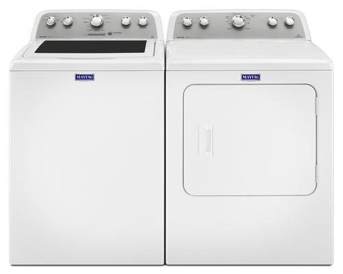 Maytag Top Load Washer Dryer White Laundry Suite At Menards