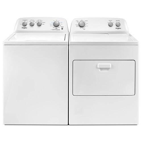 Whirlpool Top Load Washer Dryer White Laundry Suite At Menards