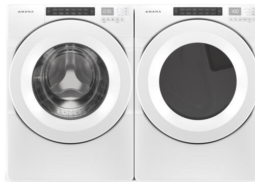 Amana Front Load Washer Dryer White Laundry Suite At Menards