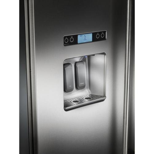 KitchenAid® 29.5 cu ft Side-by-Side Refrigerator at Menards®