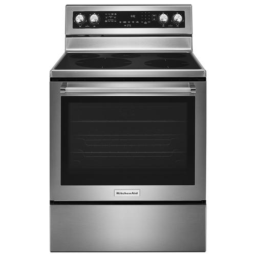 Kitchenaid 30 Electric Smoothtop 6 4 Cu Ft Convection