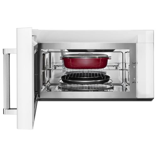 Kitchenaid 1 9 Cu Ft Over The Range Convection Microwave At Menards