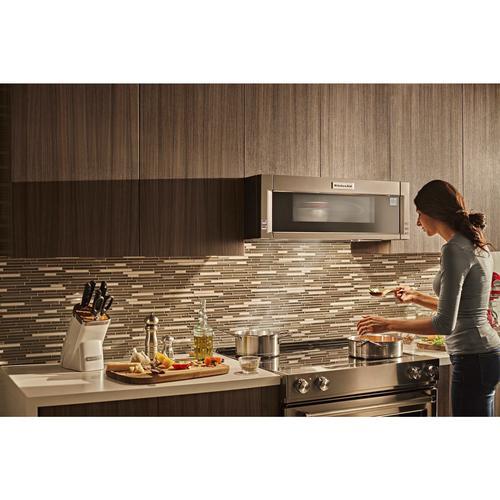 Kitchenaid 1 Cu Ft Low Profile Over The Range Microwave