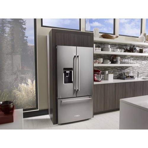 KitchenAid® 23.8 cu ft French Door Refrigerator at Menards®
