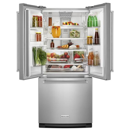 Kitchenaid 30 19 7 Cu Ft French Door Refrigerator With: KitchenAid® 19.7 Cu Ft French Door Refrigerator At Menards®