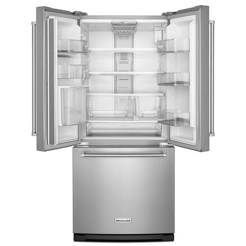 19 7 Cu Ft French Door Refrigerator At
