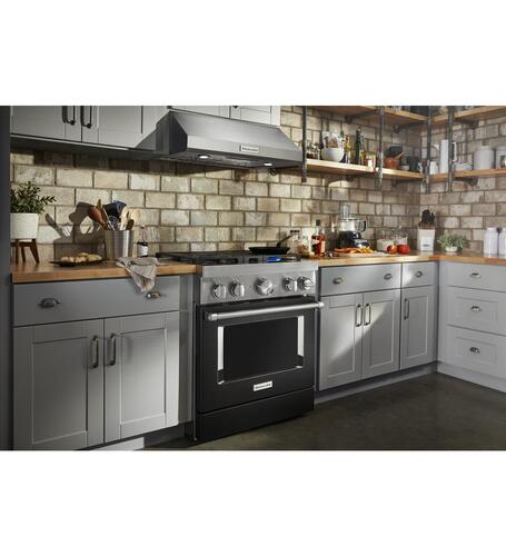 "KitchenAid® 30"" Externally Vented Under Cabinet Range Hood ..."