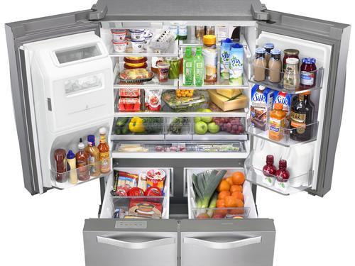 Whirlpool 174 26 0 Cu Ft French Door Refrigerator At Menards 174