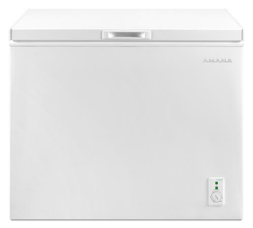 Amana 9 Cu Ft White Manual Defrost Chest Freezer At Menards