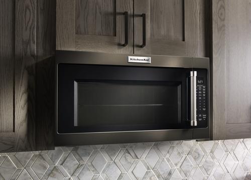 Kitchenaid 2 0 Cu Ft Over The Range Microwave At Menards