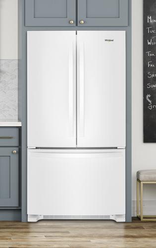 Whirlpool 174 20 0 Cu Ft French Door Refrigerator At Menards 174