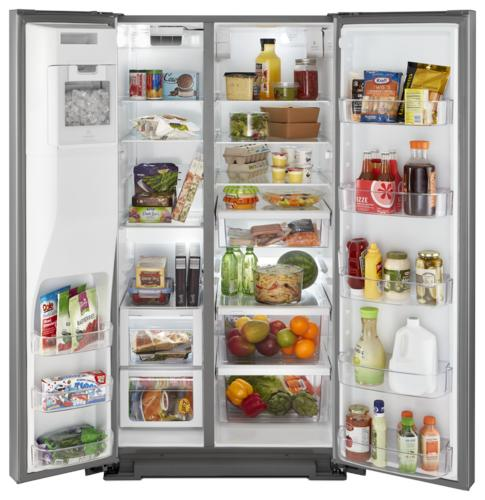 Whirlpool® 28.5 Cu Ft Side By Side Refrigerator At Menards®