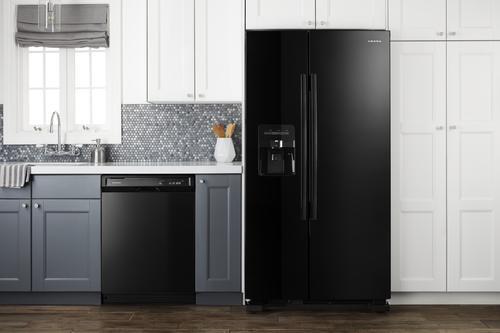 Amana® 21 4 cu ft Side-by-Side Refrigerator at Menards®
