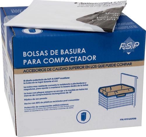 a2351ec2 Whirlpool® White Plastic Trash Bags for 15