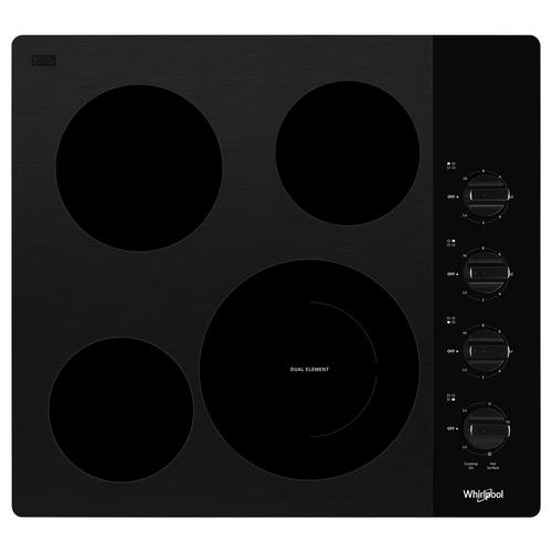 "Whirlpool® 24"" Electric Smoothtop Cooktop"