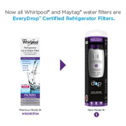 Whirlpool® EveryDrop™ Refrigerator Filter 1 (Purple) Replacement at