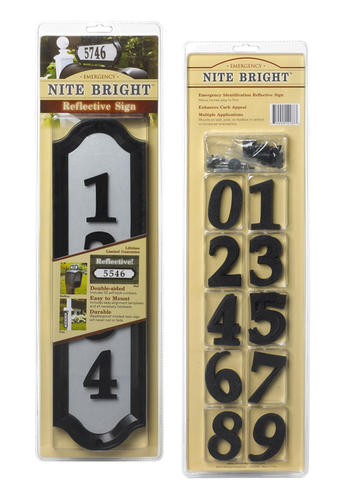 Whitehall™ Nite Bright Home Address Kit at Menards®