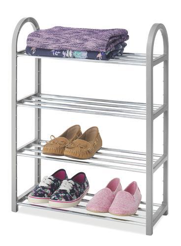 Whitmor® Paloma Gray Compact Closet Shelves At Menards®