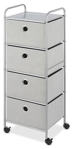 Whitmor® Gray Violet 4 Drawer Storage Cart At Menards®