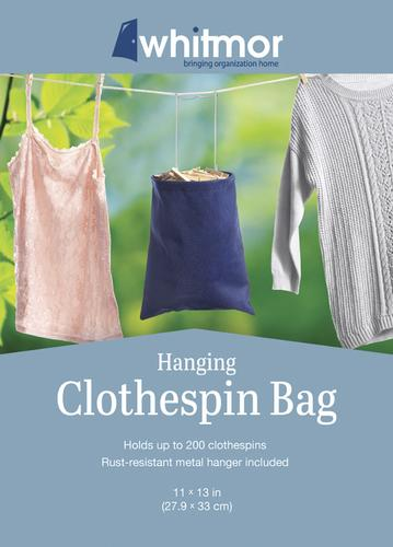Whitmor Hanging Clothespin Bag At Menards