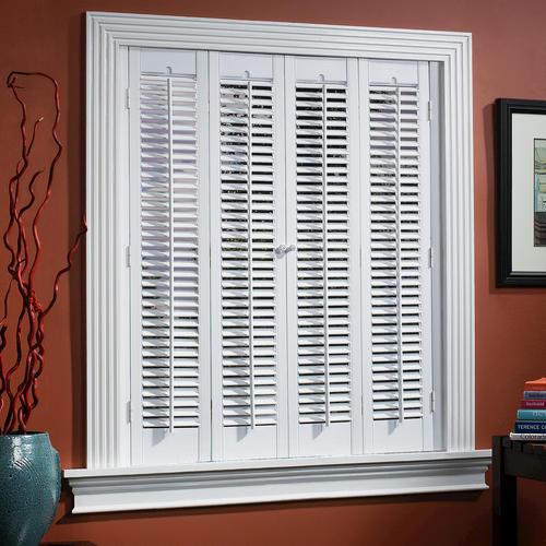 Gentil HOMEbasics® Traditional Faux Wood Interior Shutter ...