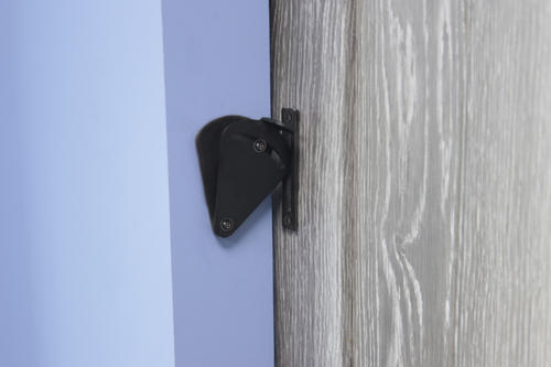 Forge Metal Barn Door Interior Locks At Menards