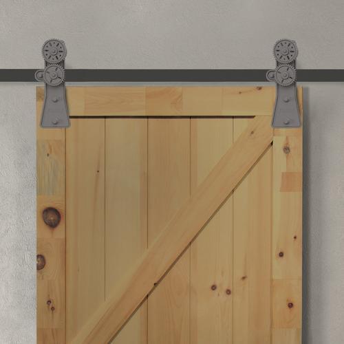 Forge Pillar Gear Barn Door Hardware At Menards 174