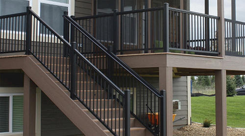 Attrayant Williams Preassembled Powder Coated Aluminum Stair Panel At Menards®