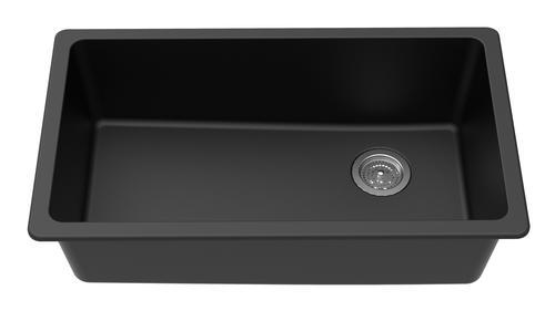Winpro Undermount 33 Quot Quartz Single Bowl Kitchen Sink At