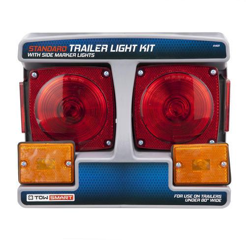 TowSmart® Standard Trailer Light Kit with Side Marker Lights